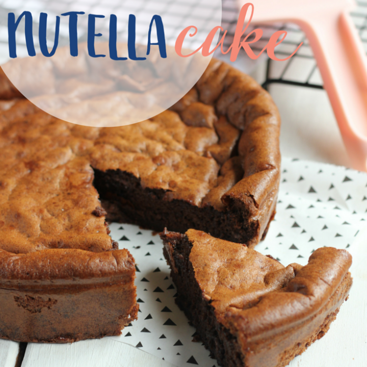 2 Ingredient Nutella Cake
