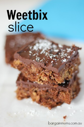 Weetbix Slice