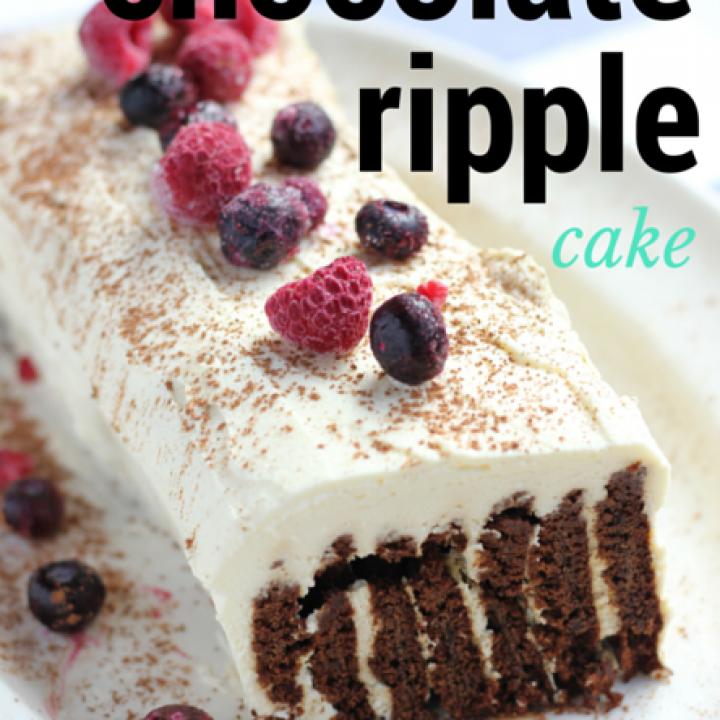 Chocolate Ripple Cake