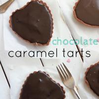 Chocolate Caramel Tarts