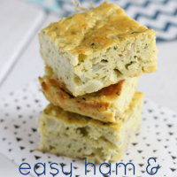 Easy Ham and Zucchini Slice