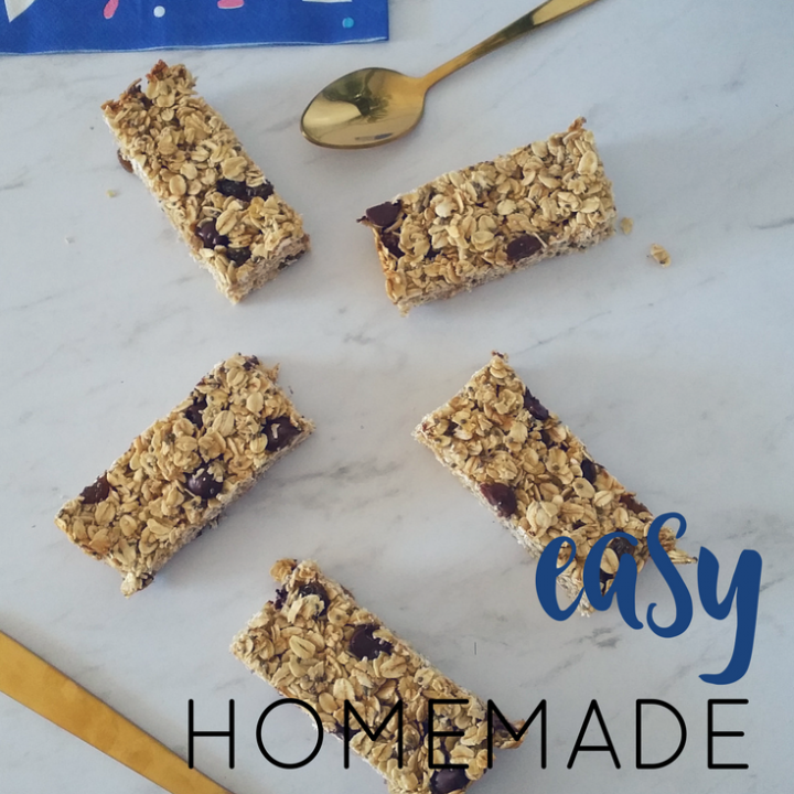 It's easy to make homemade muesli bars. They are budget friendly, and you can control the sugar content. Make a batch and store them in the freezer.