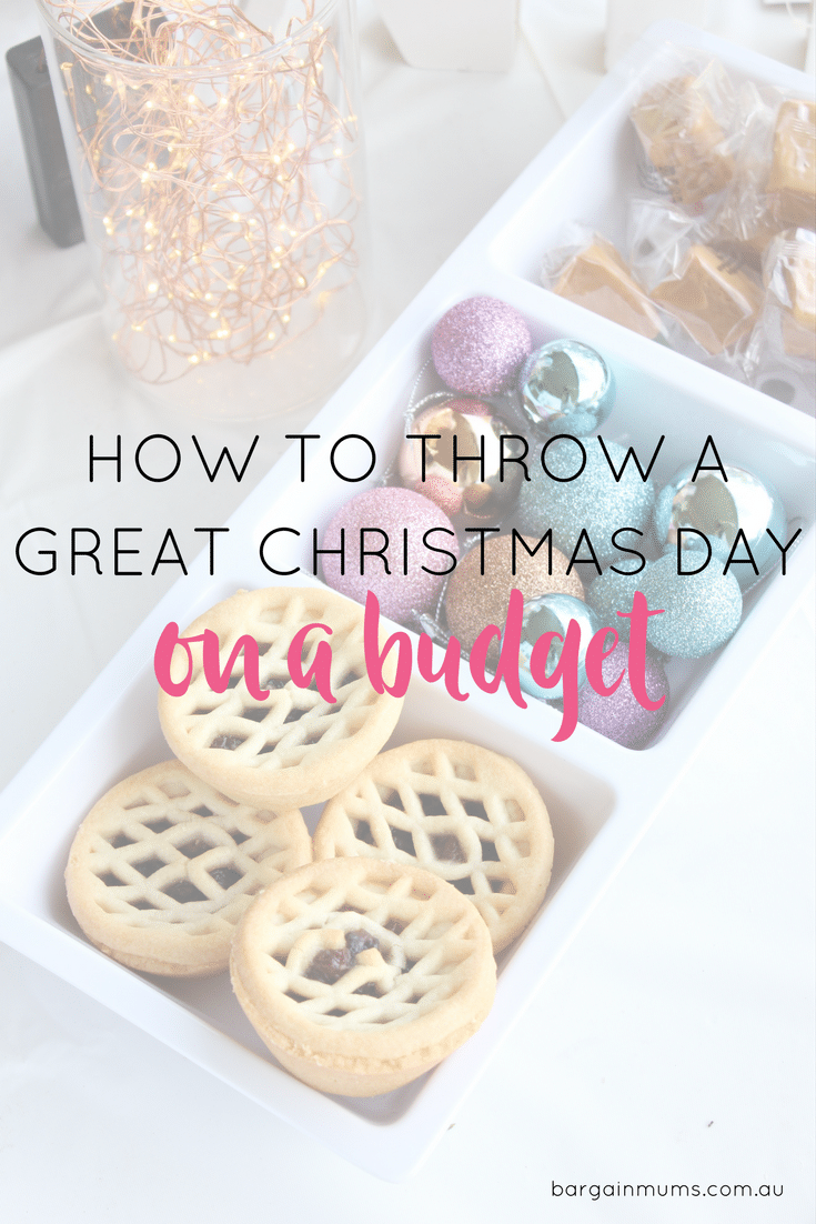 If it's your turn to host Christmas this year, you need to read this! We share our tips on how to throw a great Christmas Day on a budget.