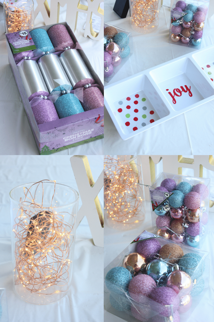 We show you how to find Christmas decor on a budget