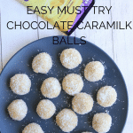 Chocolate Caramilk Balls | No Bake Recipe