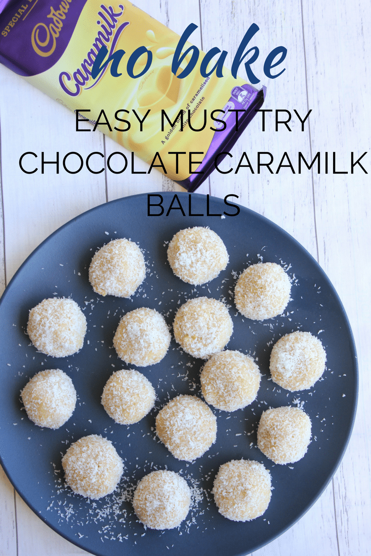 If you love Cadbury Caramilk chocolate as much as the rest of Australian and New Zealand, you must try these easy no bake Chocolate Caramilk Balls. They are so delicious it's hard to stop at just one.