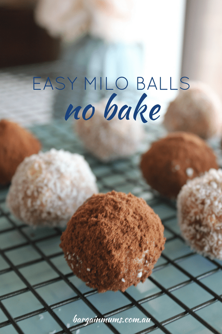 Easy Milo balls | no bake