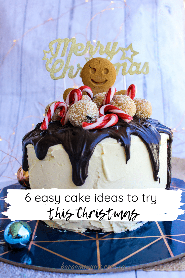 Christmas isn't Christmas without a cake.  But who has time to bake an elaborate Christmas cake, with everything else there is to do in the lead up to the festive season?  Thankfully you don't need to.
