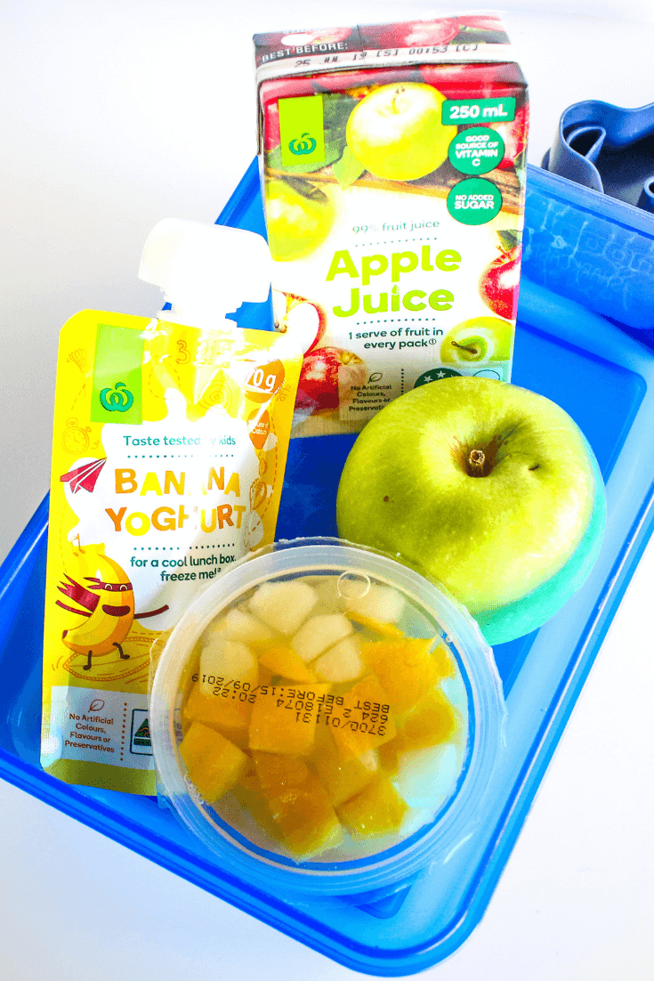 Pack a frozen fruit box in lunch boxes to double as an icy cold drink and keep food cold until lunch time.