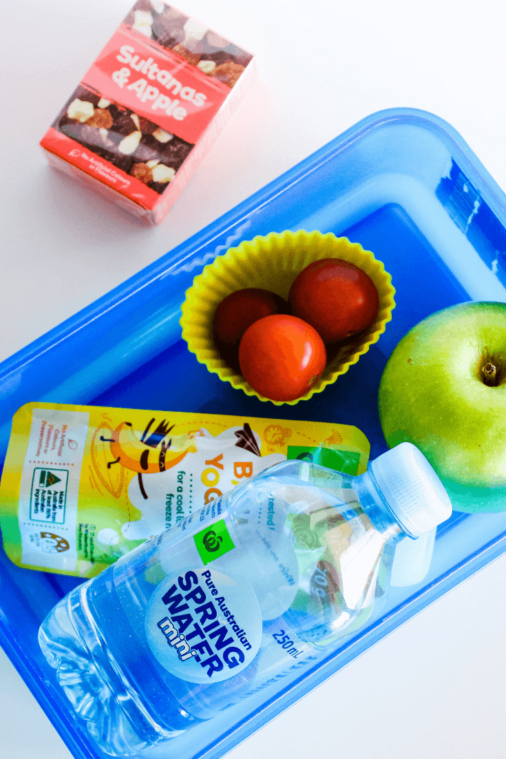 Save time on school mornings by packing lunch boxes the night before.