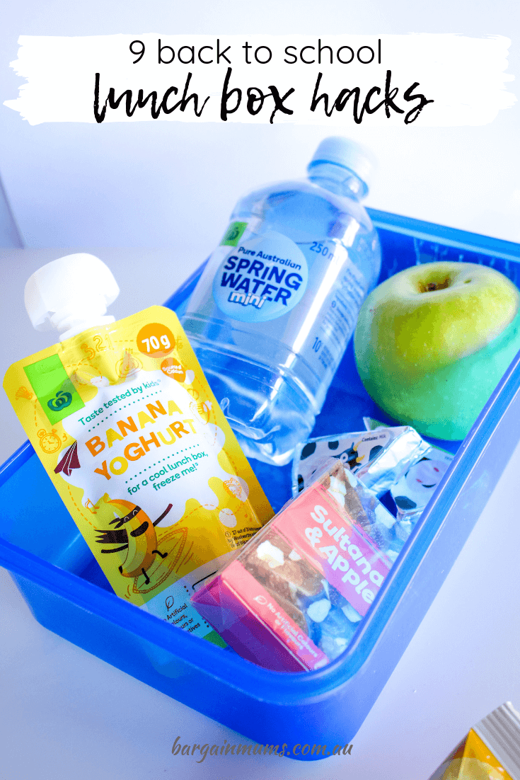 It can be hard to make lunch boxes interesting while still keeping them quick and easy. These 9 back to school lunch box hacks will make it as easy as ever.