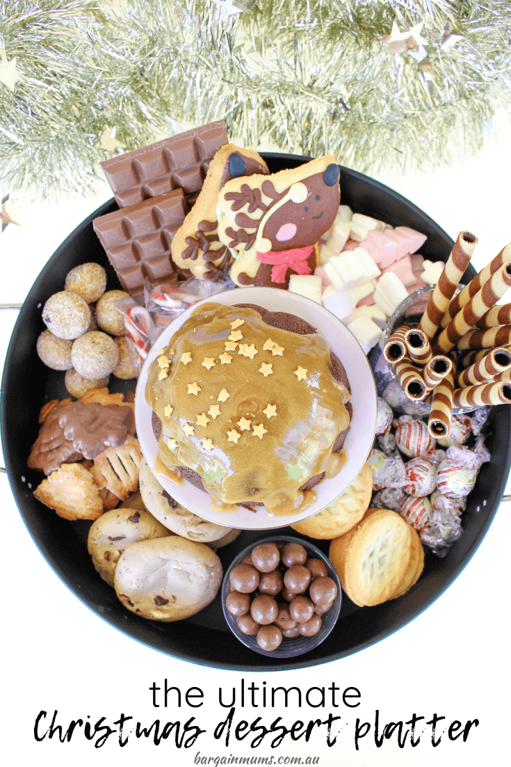 Dessert platters are the perfect way to feed a crowd, and this ultimate Christmas dessert platter is no exception.