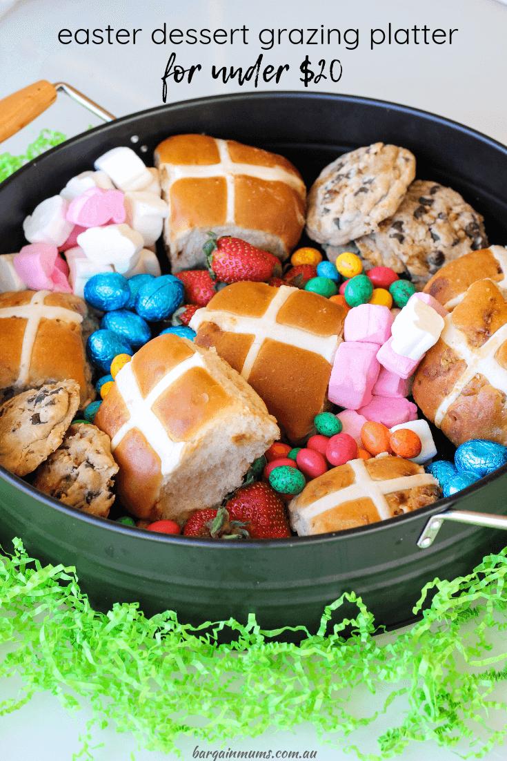 Easter Dessert Grazing Platter for under $20