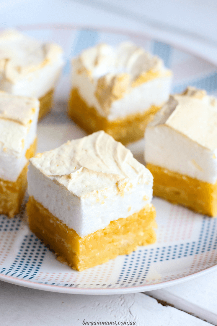 If you love lemon meringue pie, you are going to love this lemon meringue slice! It tastes just like the real thing, but is so quick and easy to make, and is perfect for entertaining.