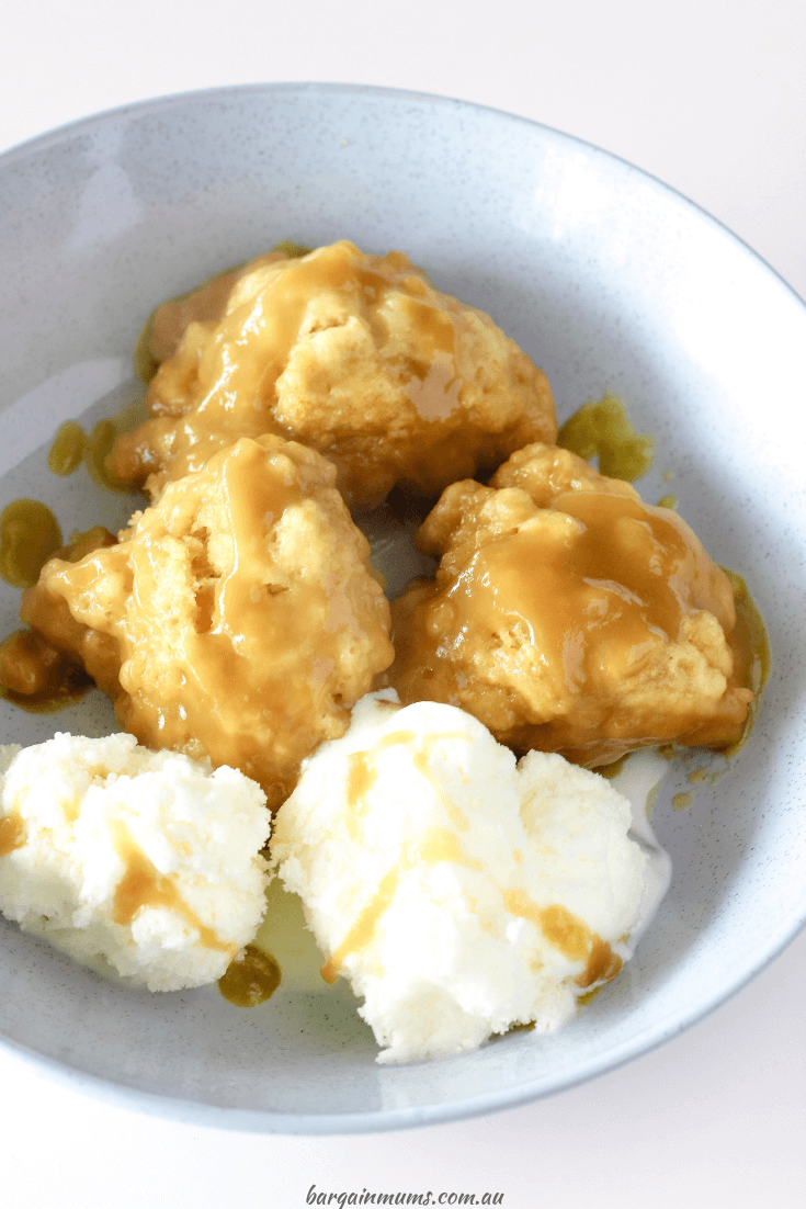Golden Syrup Dumplings Bargain Mums