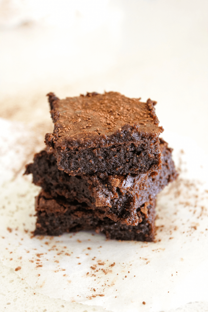 These Milo brownies are like regular brownies, but with the addition of Milo.