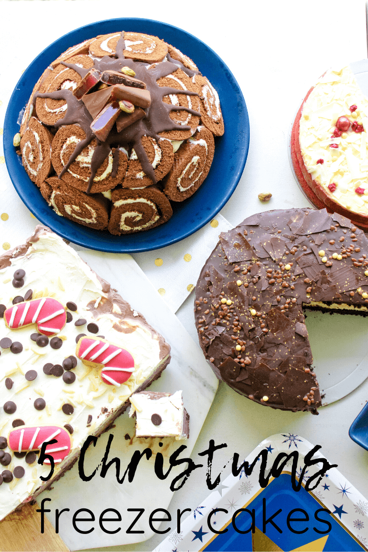 This Christmas is all about keeping things simple, and festive desserts are no exception.  Freezer cakes are the perfect alternative to spending hours baking in the lead up to Christmas.