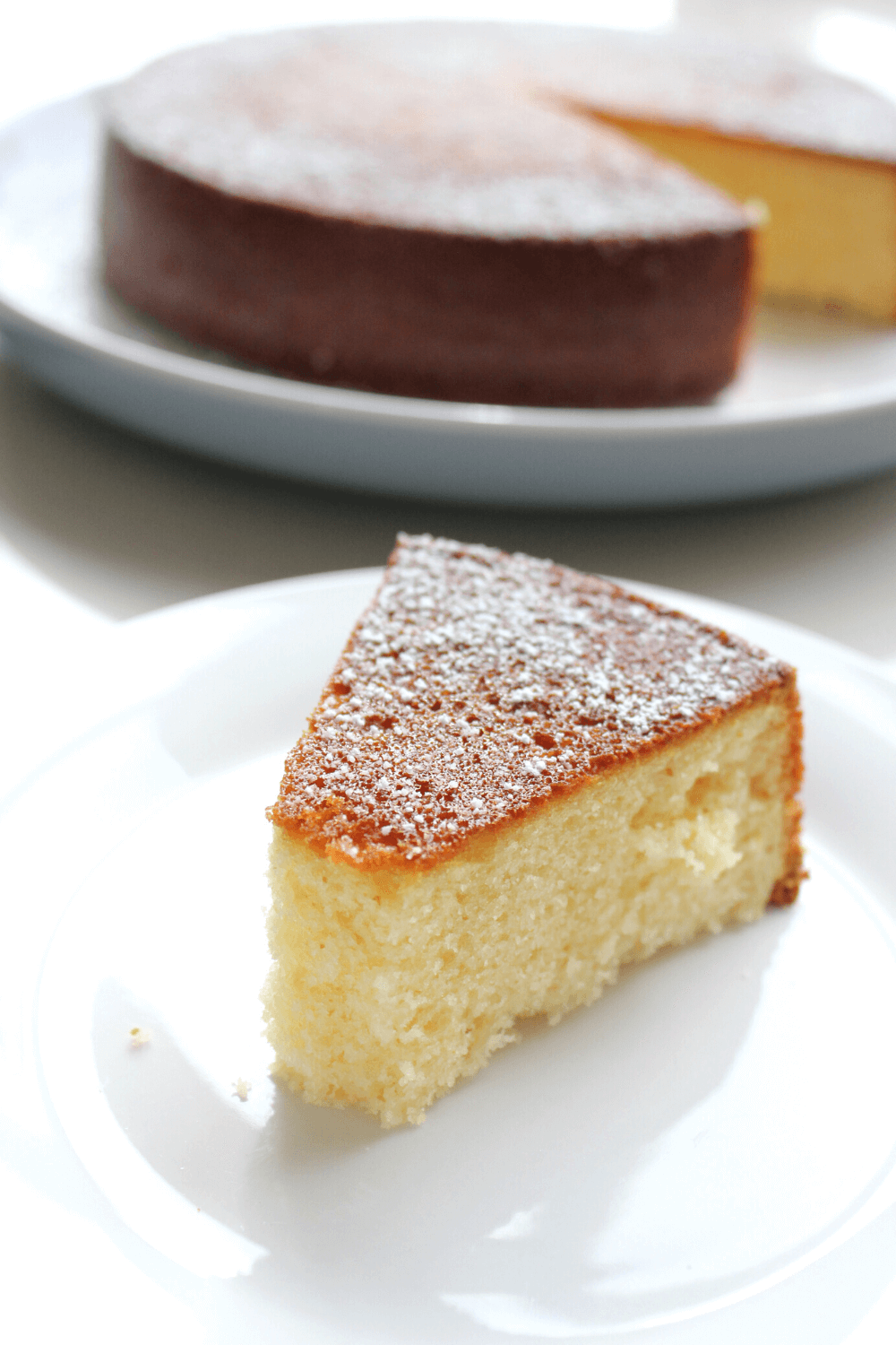 Nothing beats a dessert made using sweetened condensed milk.  There is something about the sweet, sticky ingredient that makes everything taste better.  This condensed milk cake is no exception.  It's sweet, dense and makes the perfect afternoon tea treat.
