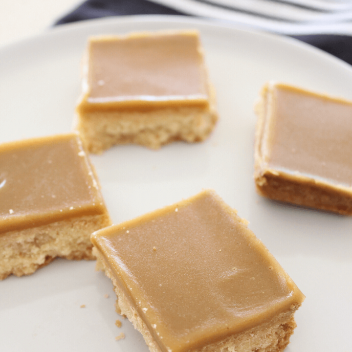 Whether you love ginger or not, you are sure to love this ginger crunch slice. It start with a crisp biscuit like base, and is topped with a caramel ginger flavoured icing.