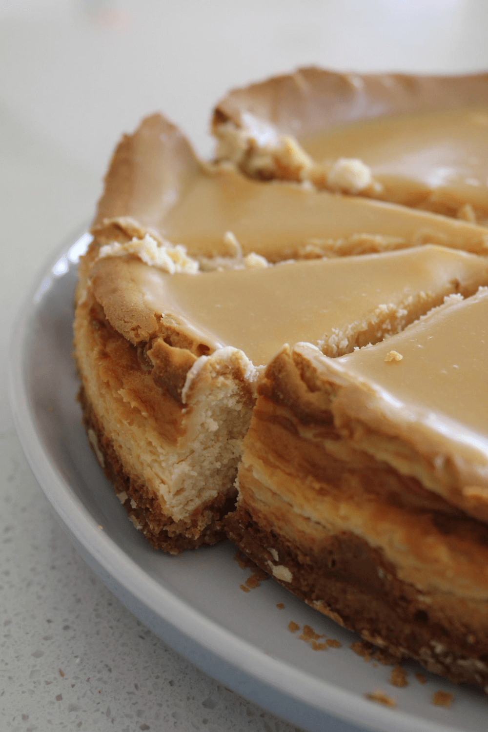 Baked cheesecakes are amazing as it is, but they are even better when Caramilk is added. This Caramilk baked cheesecake is about to become your new favourite cheesecake.