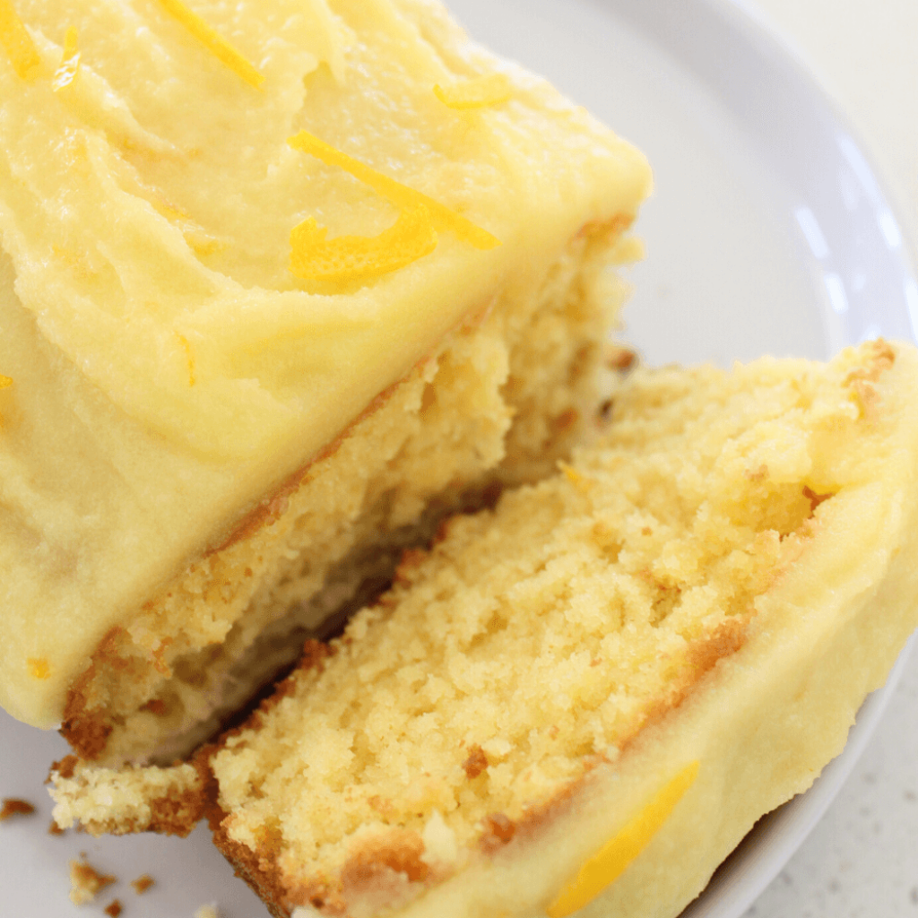 This orange cake is so simple to make, yet tastes absolutely delicious.  Topped with an orange glaze, it really is the perfect orange cake.
