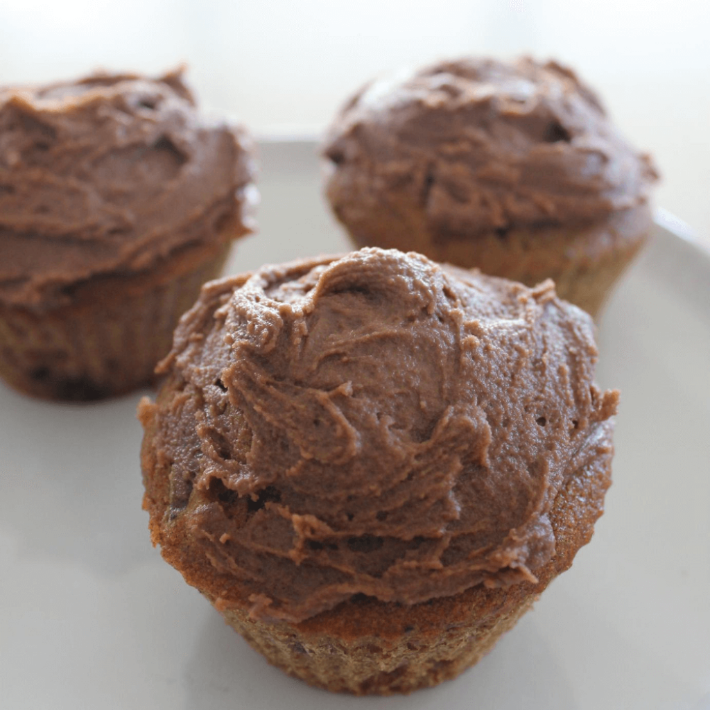 These chocolate sticky date cupcakes really are something amazing!  They start with a delicious sticky date cupcake with chocolate chips, and are then topped with a sweet chocolate icing.  The dates and chocolate work so well together.