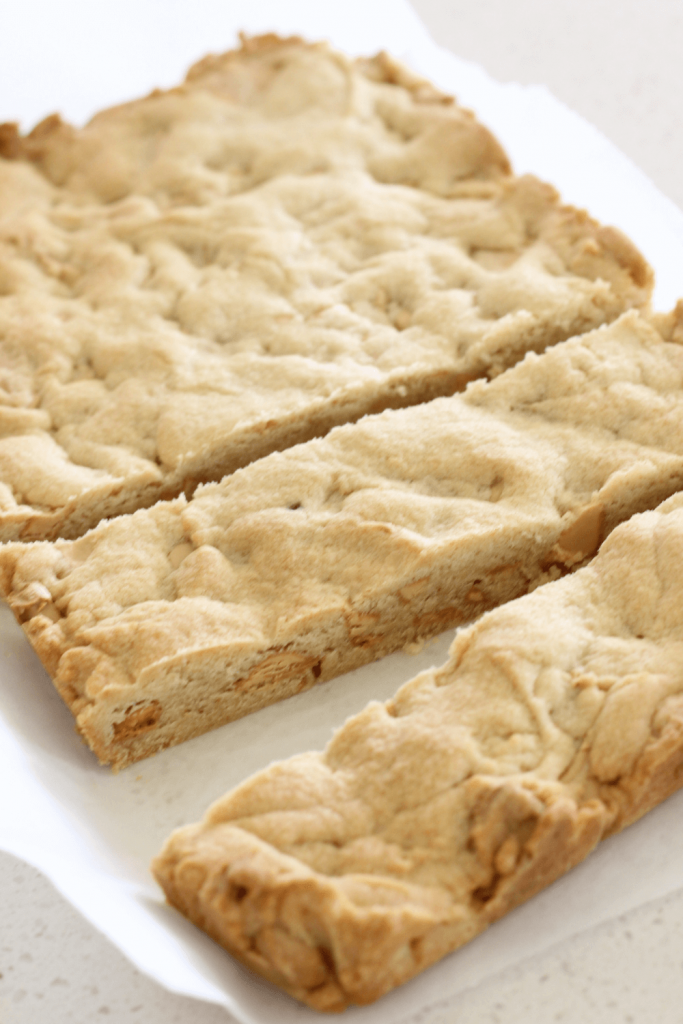 Caramilk cookie slice is the ultimate cookie slice!  It's so quick and easy to make and is the perfect sweet treat.