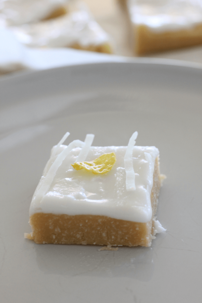I'm a huge fan of quick, no bake slices, and this Lemon Coconut Slice would have to be my favourite.