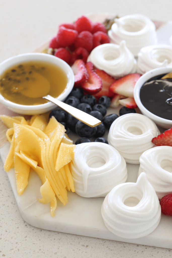 Dessert platters are the ultimate way to serve dessert when entertaining guests.  They are easy and everyone can serve themselves.  Best of all, they look amazing and make the best table centrepieces.