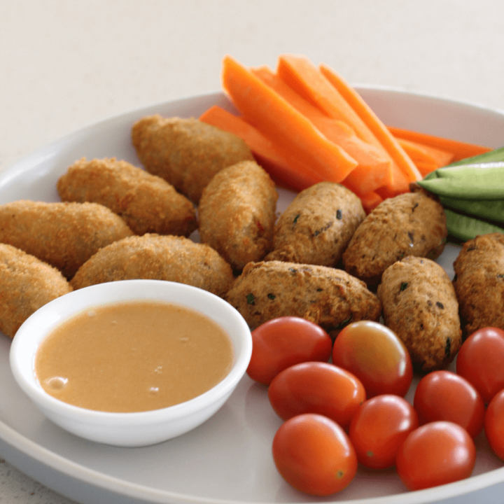 This delicious honey mustard dipping sauce is one of those recipes that has so many uses. It's as perfect used as a dipping sauce as it is used as a salad dressing.