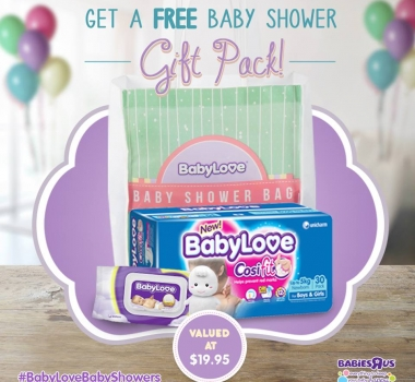 Free BabyLove baby shower gift pack